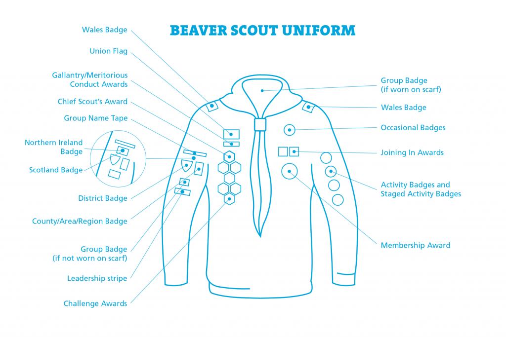 Beavers_Uniform Muslim Scouts St Albans
