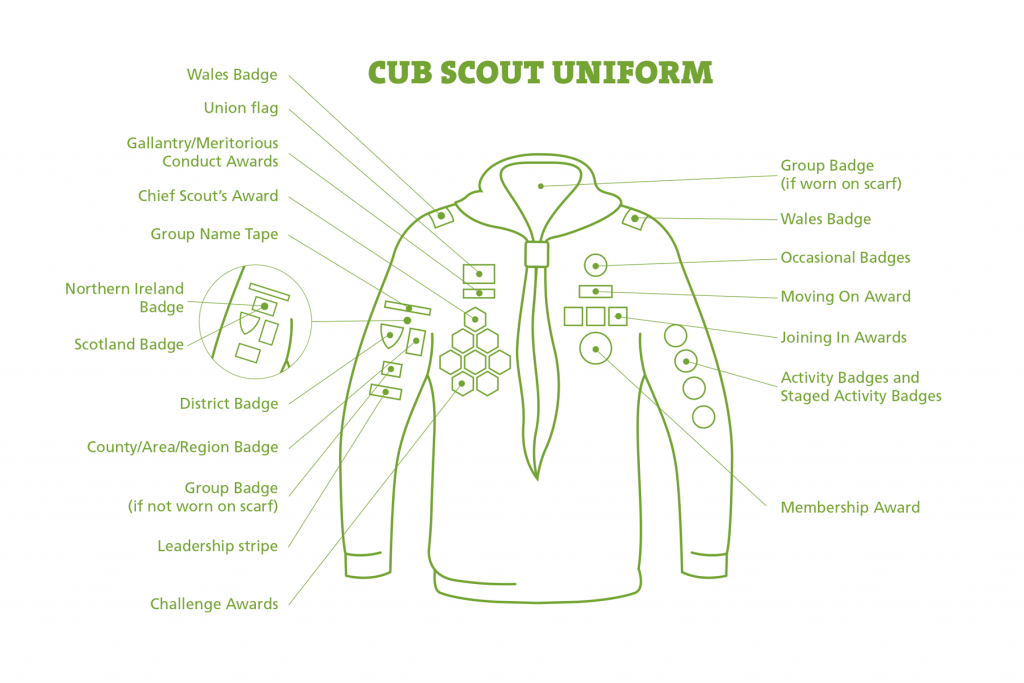 Cubs_Uniform Muslim Scouts St Albans
