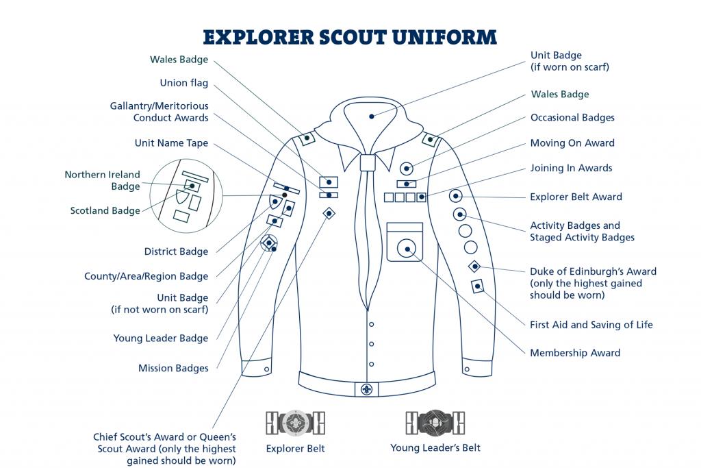 Explorer _Uniform Muslim Scouts St Albans